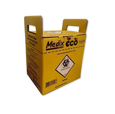Coletor de Materiais Perfurocortante 3L Medix