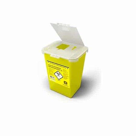 Coletor de Material Perfuro Cortante Rígido 1L Descarpack