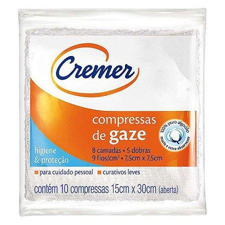Compressa de Gaze Cremer c/ 05un