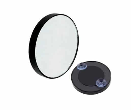 Espelho De Aumento 10x Com Ventosa