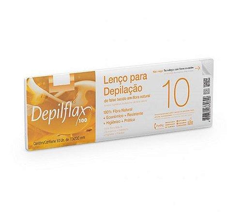 Lenço para Depilação Depilflax 10un