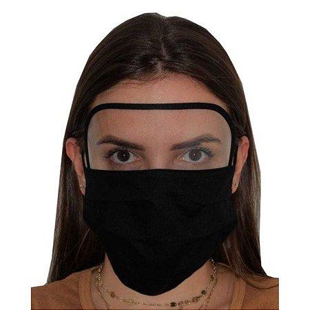 Máscara com Viseira Preta