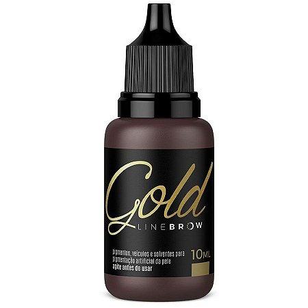 Pigmento Mag Color Gold Line Brow 10ml Hot