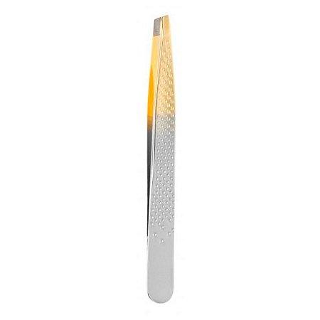 Pinça Enox Silver Gold diagonal