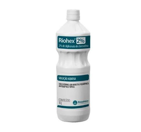 Riohex Antisséptico 2% Solução Aquosa 1L