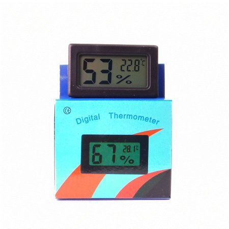 Higrômetro Medidor de Temperatura e Umidade Alongamento de Cílios Pequeno