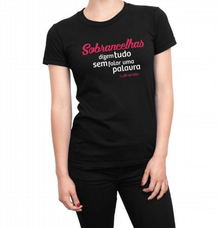 Camiseta Feminina Lu Brandão G