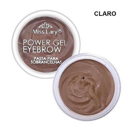 Pasta para Sobrancelhas Power Gel Eyebrow Clara - Miss Lary