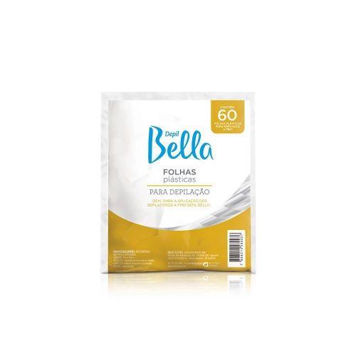 Folhas Plásticas Depilação Depil Bella 60un.