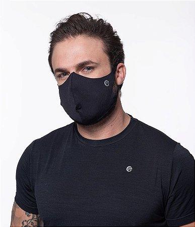Máscara Fitness Corte fio ROMA Básica Preto