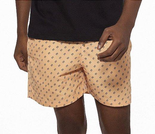 Shorts Curto Masculino ROMA Coroa Amarelo Médio