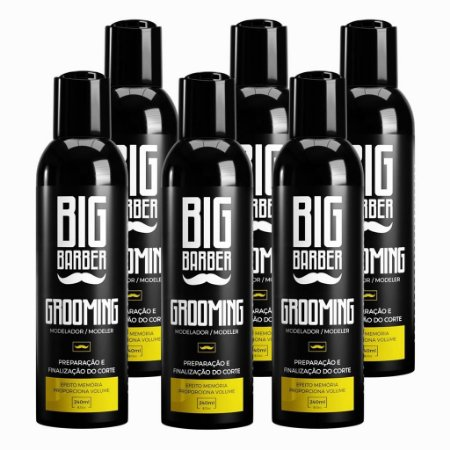 Grooming Modelador Big Barber 240ml cx com 6un