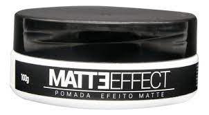 MATTE EFFECT (Pomada Modeladora Efeito Matte) 100g - Kraft Men Care