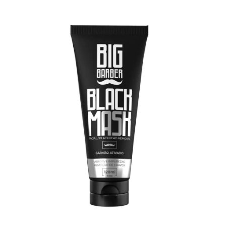 MÁSCARA REMOÇÃO CRAVOS BIG BARBER BLACK MASK 120ML