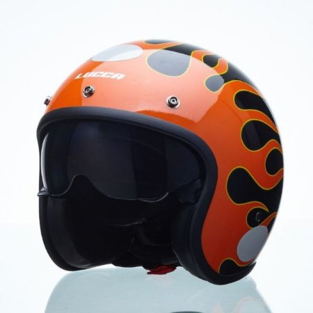 Capacete Lucca Sublime On Fire
