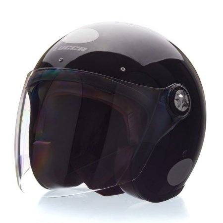 Capacete Lucca Galaxy 3 em 1  Glossy