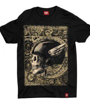 Camiseta Caveira Cap