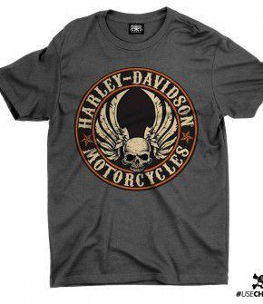 Camiseta HD Caveira