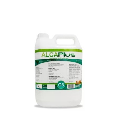 Detergente Alcalino 5 Litros