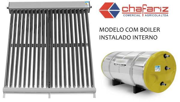 Aquecedor Solar Boiler 200 Litros Interno