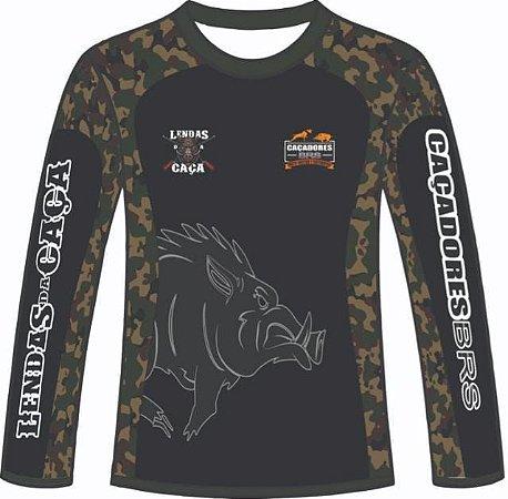 Camiseta Edição Especial Caçadores Brs & Lendas Da Caça - 04