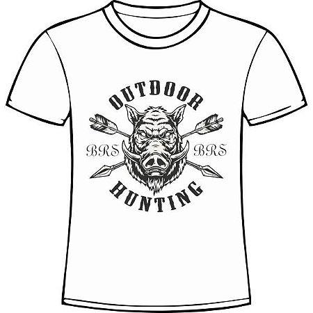 Camiseta Manga Curta BRS - 01