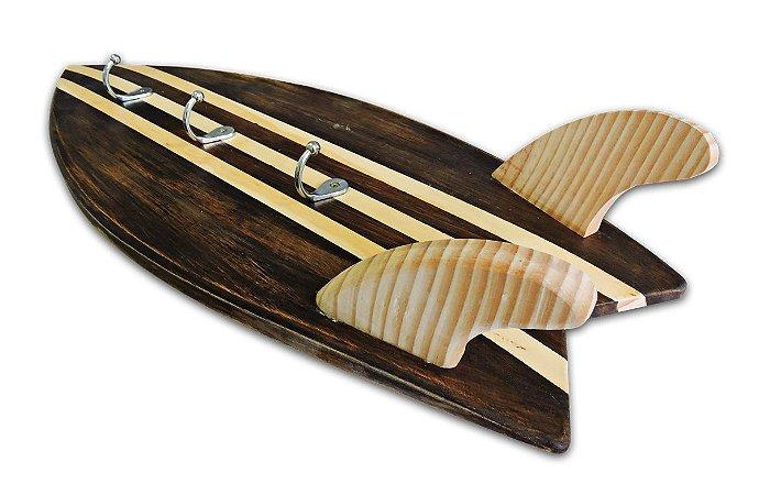 Cabideiro em Madeira Prancha de Surf