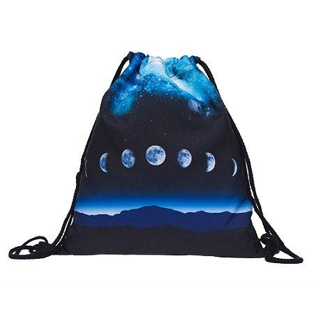 Mochila Sacola Fases da Lua