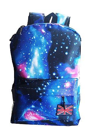 Mochila Universo Unissex - Azul