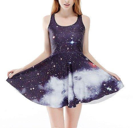 Vestido Curto - Deep Sky