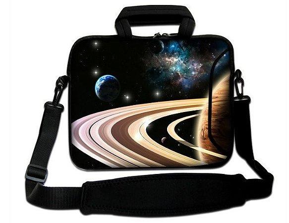 """Case p/ Notebook com alça 15"""" Saturno"""