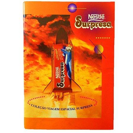 Coleção Completa Viagem Espacial - Álbum + 30 Cards