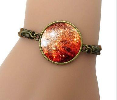 Pulseira Cosmic Nebulosa Vermelha