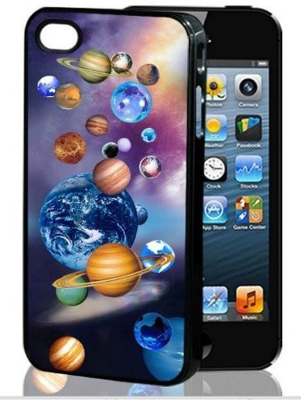 Capa 3D para Celular IPhone 5S: Tema Sistema Solar