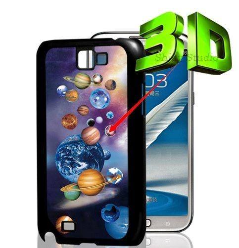 Capa 3D para Celular Galaxy S4: Tema Sistema Solar