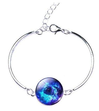 Pulseira Nebulosa Roseta Azul