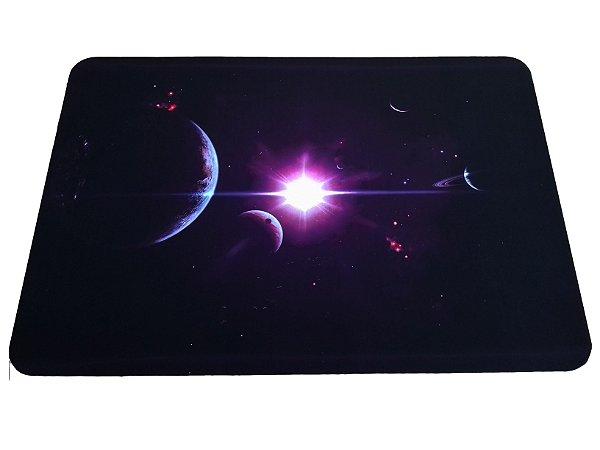 Tapete Veludo Metálico - Estrela Púrpura