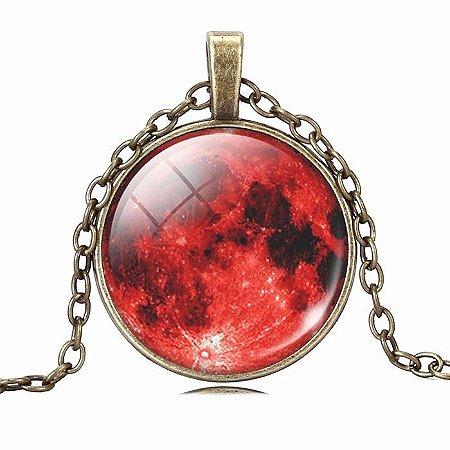 Colar Lua de Sangue