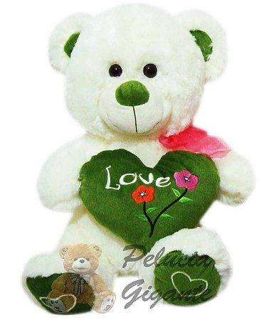 Urso Gigante com Coração Love