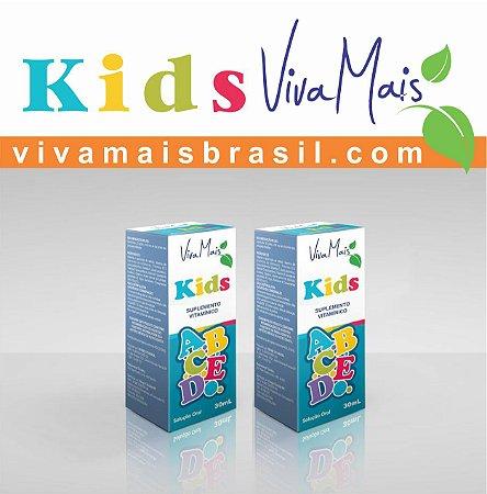 Viva Mais KIDS ABCDE 30 ml | Kit com 60 ml