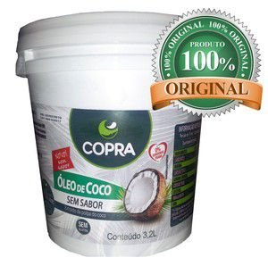 Óleo de Coco Sem Sabor - 3,2 Litros - Copra
