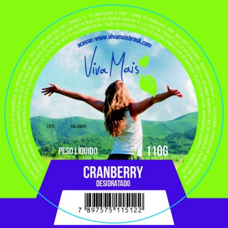 CRANBERRY | 110 GRAMAS