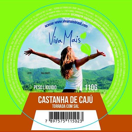 CASTANHA DE CAJU TORRADA COM SAL | 110 GRAMAS