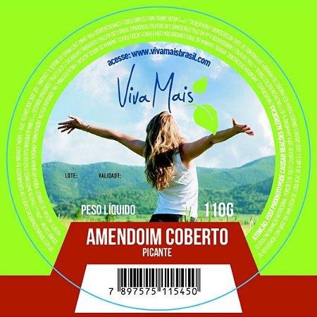 AMENDOIM COBERTO PICANTE | 110 GRAMAS
