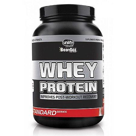 Whey Protein Mix - Sabor Morango - 900 gramas.