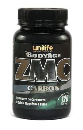 ZMC Carbon - 120 cápsulas