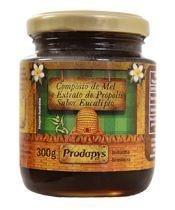Composto de Mel e Extrato de Própolis sabor Eucalipto 300g