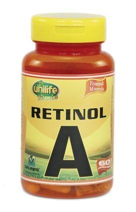 Vitamina A - 60 cápsulas
