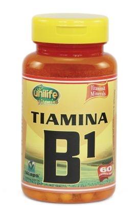 Vitamina B1 - 60 cápsulas