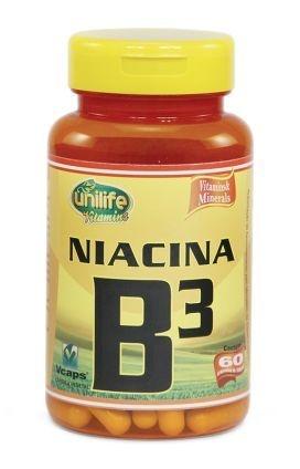 Vitamina B3 - 60 cápsulas